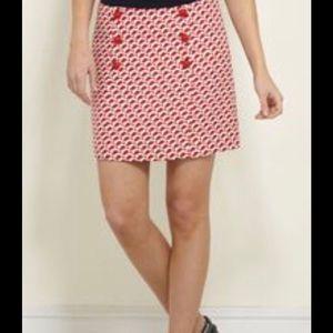"""NWT Vineyard Vines """"Geo Fish"""" Skirt"""